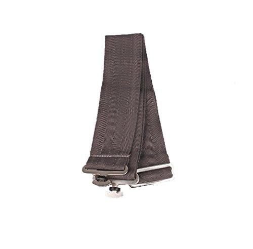 QHP Deckengurt, verstellbar, Zum Ersetzen verlorengegangener Gurte (Grau)