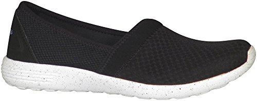Skechers Sport Sure Bet Fashion Sneaker Black/White