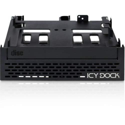 ICY DOCK MB344SPO Flex-FIT Quinto Wechselrahmen für Festplatten und SSDs Schwarz