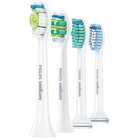 Philips Sonicare HX6004/17 cepillo de cabello - Cabezal (Color blanco)