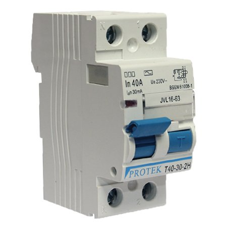 PROTEK 25AMP–30MA DOUBLE POLE RCD BY GENERIC