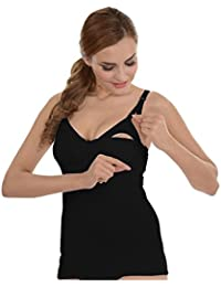 Práctica Camiseta/Top de Lactancia *Uso Sencillo* - Ropa Interior de Lactancia, Moda Femenina/para Mujer/Maternidad