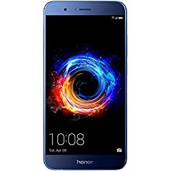 Honor 8 Pro Smartphone débloqué 4G (Ecran: 5,7 Pouces - 64 Go - Double Nano-SIM - Android 7.0) Bleu