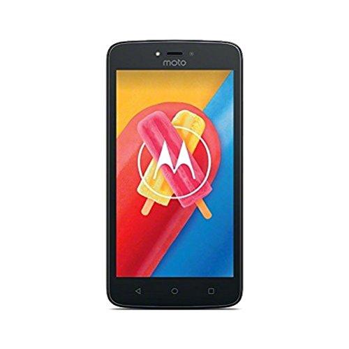 Motorola Moto C Smartphone (12,7 cm (5 Zoll), 1 GB RAM, 16 GB, Android) starry black