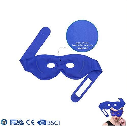 Beruhigend Dampf (Kühlende Gel-Augenmaske, Schlaf-Ice Pack & Dampf-Augenmaske, wiederverwendbares Gel. Hilft Ermüdung zu lindern und fördert den Schlaf. Beseitigt Ödeme, dunkle Kreise, Kopfschmerzen)