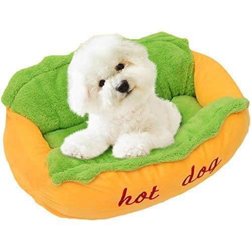 Hot-dog-korb (Hundebett Hot Dog/Couch/Lieblingsplatz)