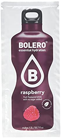 Bolero Essential Hydration Sugar Free Fruit Drink Raspberry 12 Sachets