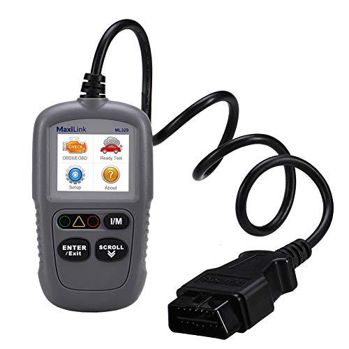 OBD2 Diagnosegerät, Auto OBD II Diagnose Scanner, Fahrzeug Fehlercodeleser, Lesen und Löschen Fehlercode mit I/M Bereitschaft,AutoVIN-Funktion