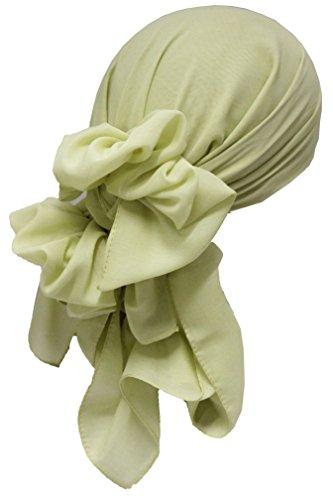 Quadratisch Kopftücher (1mx1m) - 2 für 15Eur (11-Lime Green) (Green Elf-hut)