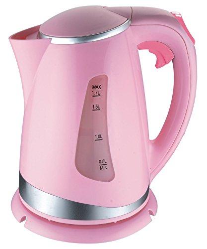 Seranova MCK Wasserkocher Teekocher 1,7 L 2200W (Rosa)