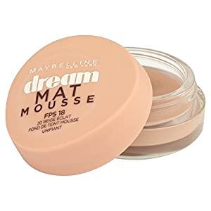 Gemey - Maybelline - Dream Matte Mousse - Base Mousse Foundation - 20 Beige shine - 18ml