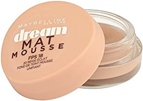 Gemey-Maybelline - Dream Mat Mousse - Fond de teint mousse - 20 beige éclat - 18ml