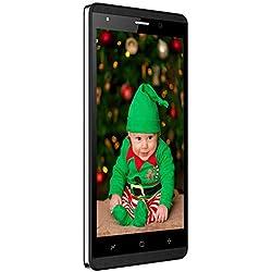 4G Smartphone Pas Cher Android 7.0 16Go de ROM Telephone Portable Debloqué 4G Dual SIM Dual Caméras Téléphone Portable Pas Cher sans Forfait GPS 2800mAh(Noir)