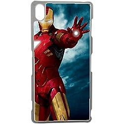 Aux prix canons - Etui Housse Coque Marvel Comics Avengers Originale Iron Man 1 Swag Sony Xperia Z5
