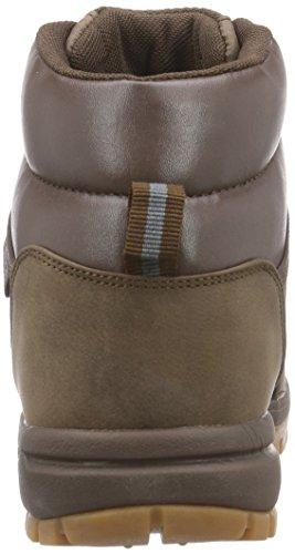 Kappa Bright Mid, Chaussures montantes mixte adulte Marron (brun)