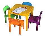Home Hütte ® Große Tisch und Stuhl-Set Große Kinder, die Kunststoff–Kinder Kleinkinder Kinder–Geschenk