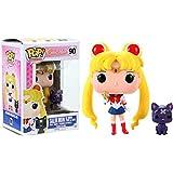 Funko Figura de Vinilo Pop! FK6580 de Sailor Moon de 10 cm con cetro Lunar