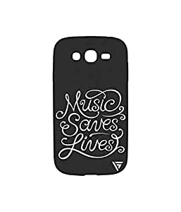 Vogueshell Music Saves Lives Printed Symmetry PRO Series Hard Back Case for Samsung Galaxy Grand Neo