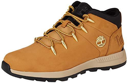 Timberland Herren Euro Sprint Trekker Chukka Boots, Gelb (Wheat Nubuck), 44.5 EU -