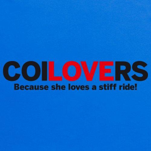 Love coilovers T-Shirt, Herren Royalblau