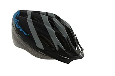 Falcon Men's Bike Helmet - Black/Blue, 58-62 cm by Falcon