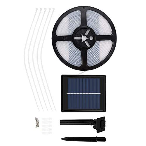 koulate wasserdichte Solarlichterkette, Solarlicht 5M 100Led für Weihnachtsbaum-Gartendekoration
