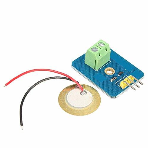 Ladicha Analoger Piezoelektrischen Keramik-Piezo-Vibrations Sensor Für Arduino Uno Rev3 (Keramik-trommel)