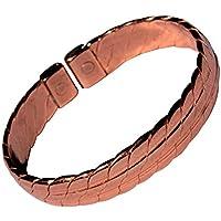 """magnetisch schwer massiv Kupfer Armband - 3 Handgelenk Größen - CCB -mb29 - Large - 210mm (8 1/4"""") to 230mm (9"""") preisvergleich bei billige-tabletten.eu"""