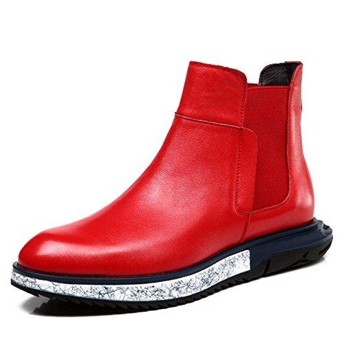 Bottes d'hiver pour hommes et laine-tendance homme haute Martin England casual shoes