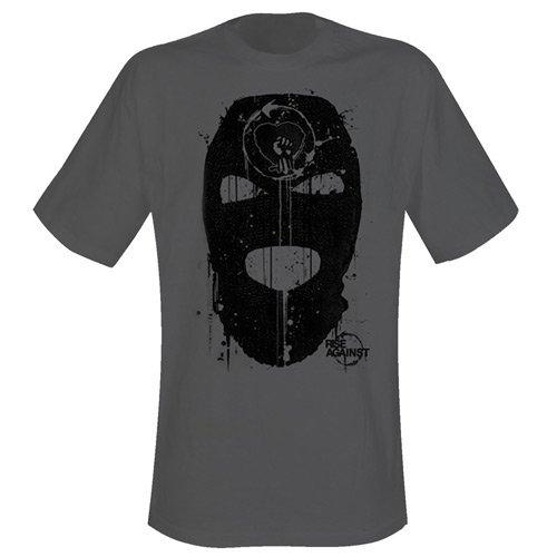 Preisvergleich Produktbild RISE AGAINST - GOOD GUYS DON'T WEAR WHITE T-Shirt Grau XL