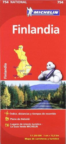 Mapa National Finlandia (Mapas National Michelin) por Vv.Aa