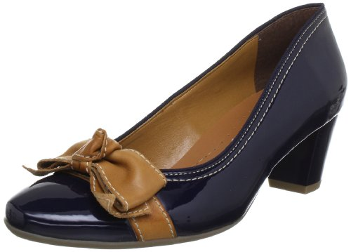 Jenny Venezia 22-52823-06, Scarpe col tacco donna Blu (Blau (pacific,saddle))
