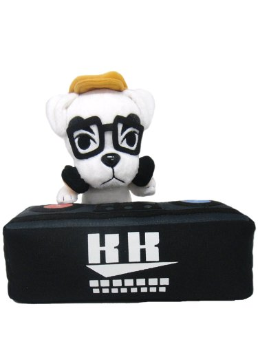 Nintendo Animal Crossing - K.K. Slider Plush - Dog DJ - 16cm 6.5""