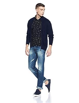 Levis Men's Floral Regular Fit Polo