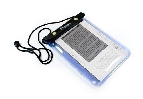 E-volve Aquatic BeutelTasche - wasserfeste AllzweckTasche (Größe: L) kompatibel mit Amazon Kindle Keyboard / 4 / Touch / Fire / Fire HD / Paperwhite / 6