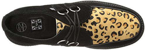 Leopard Round Low Sole T Black Sneaker K Damen Noir U Creeper qHwvpxIvBf