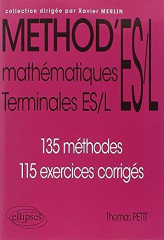 Method Mathematiques - Méthod'ES/L Mathématiques