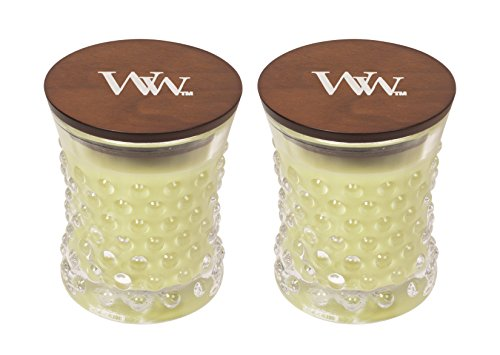 Woodwick Vintage Hobnail Kerzen-Set Traditionell Small Willow Vintage Willow