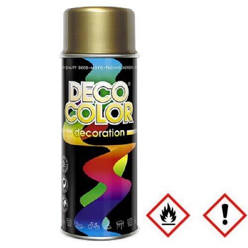 1 Stück 400ml Lackspray Spraydose Dekorfarbe Gold 10200