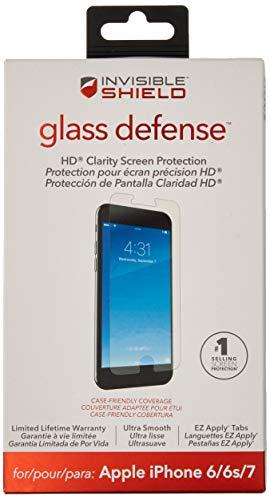 ZAGG invisibleSHIELD Glas Defense-Displayschutzfolie für Apple iPhone 8, iPhone 7, iPhone 6S, iPhone 6 Zagg Invisibleshield Apple