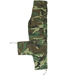 BE-X Leichte Feldhose -BCU- mit 5 Taschen, aus RipStop Gewebe - US woodland