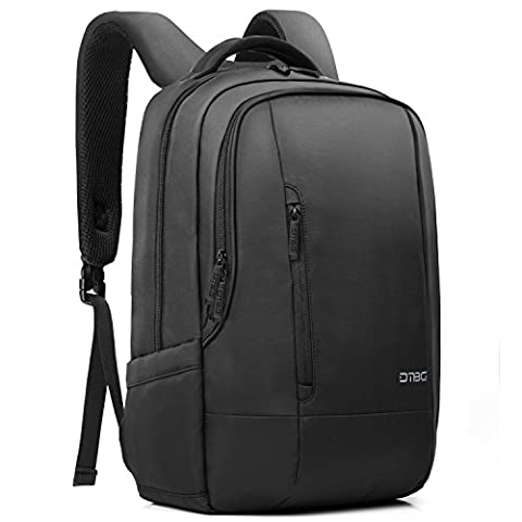 17.3 Inch Laptop Backpack with Bubble Pad,DTBG Nylon Durable Water-Resistant Business Travel Knapsack College Shoulder Back Pack School Bag For 17 - 17.3 Inches Laptop Notebook Tablet