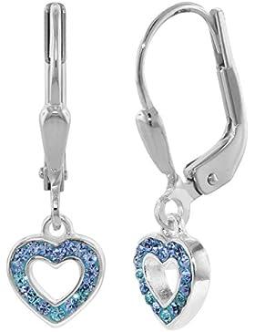 trendor Mädchen-Ohrringe Silber 08310