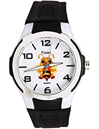 Vizion Analog Multi-Colour Dial (Venessa-The Bee Queen) Cartoon Character Watch for Kids-V-8826-1-2