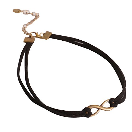 Contever® Gothic Vintage Collana Black Classic Jeweled Girocollo per Le Donne Lady - Style 4