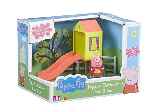 Peppa Pig - Outdoor Fun Slide - Spielset + Minifigur