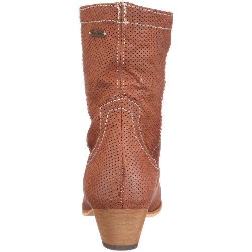 Pepe Jeans London Messy MSS-230 A Damen Stiefel Braun/Tan