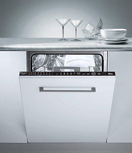 Candy CDIM 4615 Geschirrspüler / Einbau-Spülmaschine / 9 Programme / 44 dB / Aquastop / Unterkorb XXL / 308 kWh pro Jahr