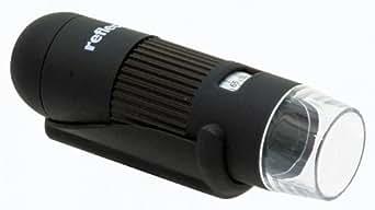Reflecta DigiMicroscope USB Mikroskop (für Foto und Video auf PC, maximal 200x Vergrößerung)