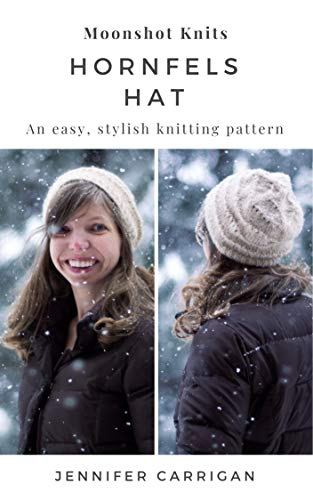 An easy, stylish knitting pattern: the Hornfels Hat (English Edition)